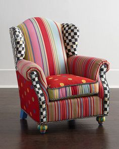 Wee Wing Chair by MacKenzie-Childs at Horchow.