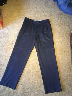81a5136881b3b Ballin Comfort Eze Men s Navy Dress Pants Size 34x33 100% Polyester  fashion   clothing