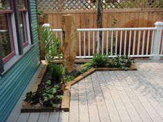 You can incorporate a fountain into your deck