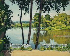 Albert Marquet, Poissy, The White Fence, n.d.