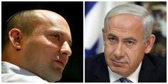 Bennett y Netanyahu - El trato se cerró dos horas antes del plazo, según las fuentes. Netanyahu da el Ministerio de Justicia, pero mantiene el Ministerio de Relaciones Exteriores.