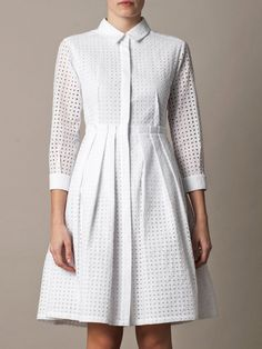 Freda broderie anglaise frock.