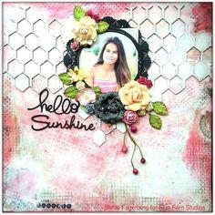 Layout: 'Hello Sunshine' for Blue Fern Studios