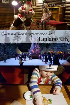 Reviewing the magic of Lapland UK - a wonderful immersive experience which celebrates the magic of Christmas