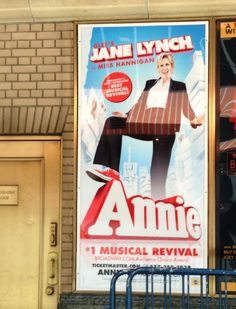 Jane Lynch in #Annie poster----I want to see this soooooo bad!