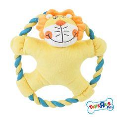 Toys R Us Lion or Monkey Rope Ring Dog Toy   Toys   PetSmart, $6.99