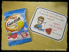 Cute and easy Valentine from the teacher.