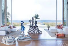 20 Pristine Ways To Design With White Living Room Furniture - ELLEDecor.com