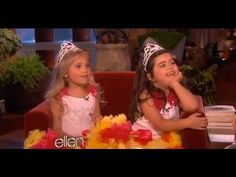 I hope my kids are this amazing!   #sophiagrace #rosie