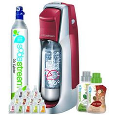 SodaStream Fountain Jet Soda Lover's Start-Up Kit Giveaway