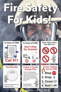 Talking to your kids about fire safety is so important. We all know that, but actually making time to do it is not always a priority. This is not something we should leave to the