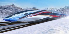 Design renderings of future Olympic trains unveiled in Beijing Train Ticket Booking, Concept Architecture, Futuristic Architecture, Iron Man Cosplay, Environment Sketch, High Speed Rail, Train Service, Train Pictures, Trains
