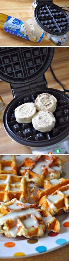 Cinnamon roll waffles are really good. I've tried them, and they were delicious..jpg