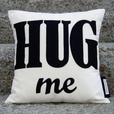 Hug Me Word Cushion
