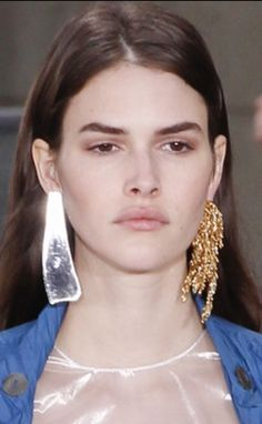 Loewe Spring-Summer 2016 Mismatch Statement Earrings!!!