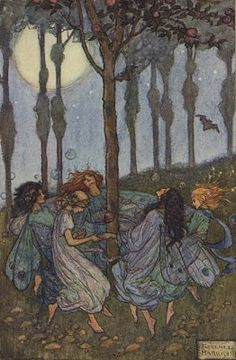 Florence Harrison: 'He Whistled to the Merry Elves were Leaping in a Ring'