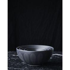 lucie kaas lotus skål trends sort 24cm | Ting Sorting, Lotus, Tableware, Design, Lotus Flower, Dinnerware, Tablewares, Dishes