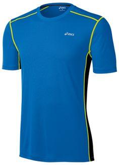 ASICS FujiTrail Short Sleeve. #Training #Workout #Apparel