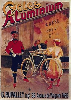 """Bicycle Poster by PAL 1890/'s    A3  11.7/"""" x 16.5/"""""""