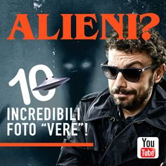 """Le 10 """"migliori"""" foto di alieni: scoprite come si spiegano nel nuovo episodio di #StraneStorie https://youtu.be/MnKA4VUBI94 #alieni #ufo #fantasmi #extraterrestri #fotomisteriose"""