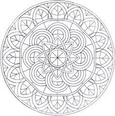 Image detail for -Mandalas a colorier : Mandala 79.jpg