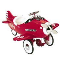 Pastense 50's retro pedal cars and planes