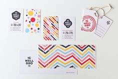 Love this identity designed by Karl Herbert . The Well-Gro Co is a company that promotes healthy food choices for children. Brand Identity Design, Corporate Design, Logo Design, Type Design, Corporate Identity, Brand Design, Planner Writing, Event Branding, Grafik Design