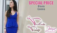 SPECIAL PRICE - BLUSA E GONNA DA VALERIA VANITY http://affariok.blogspot.it/
