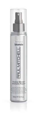 Paul Mitchell Forever Blonde Dramatic Repair - leave in spray, blend of proteins and oils.
