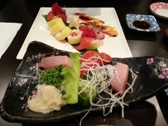 Japenese food, so artfully made