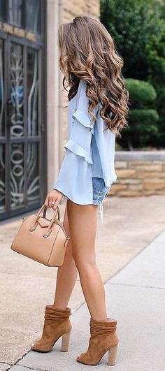 #summer #outfits My Blouse & Booties Are On Sale Right Now But Only For Two More Days!!