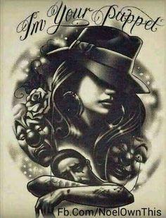 Lil Van Tattoo Artist : tattoo, artist, Gangsta, Colab, Ideas, Tattoos,, Sleeve, Tattoo