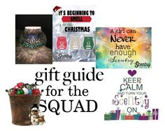 """""""Squad Gift Guide"""" by flippintickledinc ❤ liked on Polyvore featuring Hostess and giftguide"""