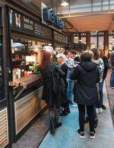 Indoor foodmarket Amsterdam - Foodhallen - My favorite dish? The goi cuon at Viet View!