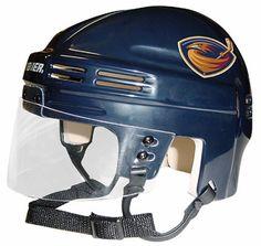f22e428913f Official NHL Licensed Mini Player Helmets - Atlanta Thrashers