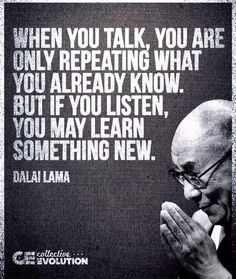Listening inspirational quotes