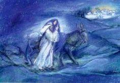 Marjan van Zeyl - Josef en Maria naar Bethlehem