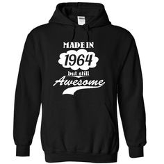 1964 But Still Awesome Tee Tee Shirt & Hoodie Designs #1964 #birthday. ORDER HERE: https://www.sunfrog.com/SunUnique/1964-T-Shirts?72121&shelloff