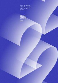 Clara Esteve by Quim Marin Studio. Game Design, Book Design, Cover Design, Layout Design, Type Posters, Graphic Design Posters, Event Posters, Desing Inspiration, Monospace