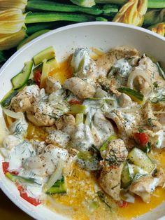 Hungarian Recipes, Potato Salad, Chicken Recipes, Healthy Recipes, Healthy Food, Favorite Recipes, Meals, Dinner, Ethnic Recipes