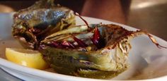 Fire-Grilled Artichokes from Food Network