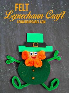 Leprechaun Felt Craft