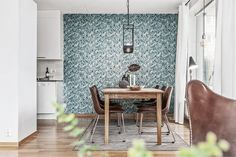 appartement contemporain - salle à manger #decoration #design #mobilier