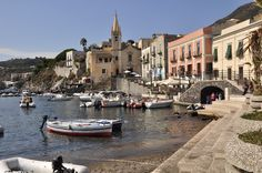 Lipari island, Eolie islands, Sicily