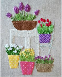 Wonderful Ribbon Embroidery Flowers by Hand Ideas. Enchanting Ribbon Embroidery Flowers by Hand Ideas. Embroidery Flowers Pattern, Embroidery Monogram, Simple Embroidery, Learn Embroidery, Hand Embroidery Stitches, Silk Ribbon Embroidery, Embroidery Jewelry, Hand Embroidery Designs, Embroidery Art