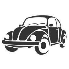 DIY Volkswagen Slug Bug Vinyl Decal, Laptop Decal, Tablet Decal, Stainless Steel Mug Decal, Car Window Decal. Canvas Wall Hanging, Frame It