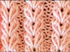 Best Crochet For Beginners Mittens 24 Ideas Knitting Stiches, Knitting Videos, Crochet Videos, Loom Knitting, Crochet Stitches, Baby Knitting, Stitch Patterns, Knitting Patterns, Crochet Patterns