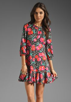 Juicy Couture Snowy Rose Dress // Cute!