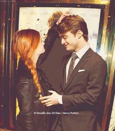 Bonnie & Dan.. it's like really seeing Harry Potter -without glasses- and Ginny.. *_* never seen this chemistry in the movies..XDD