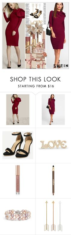 """""""SheIn 6/9"""" by dilruha ❤ liked on Polyvore featuring Lenox, Kevyn Aucoin, Sisley and Blue Nile"""